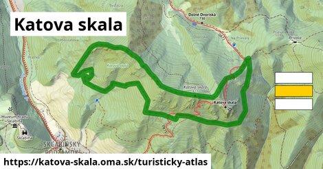 ikona Turistická mapa turisticky-atlas  katova-skala