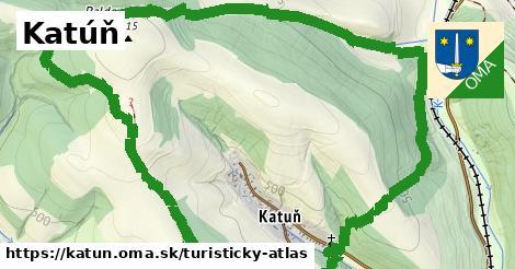 ikona Katúň: 0m trás turisticky-atlas v katun