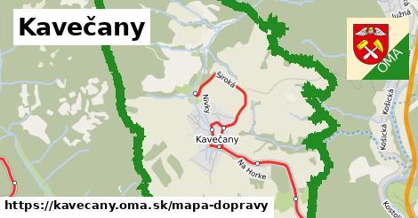 ikona Mapa dopravy mapa-dopravy  kavecany