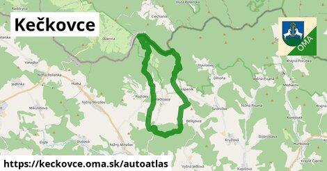 ikona Mapa autoatlas  keckovce