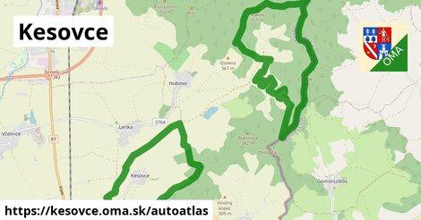 ikona Mapa autoatlas  kesovce