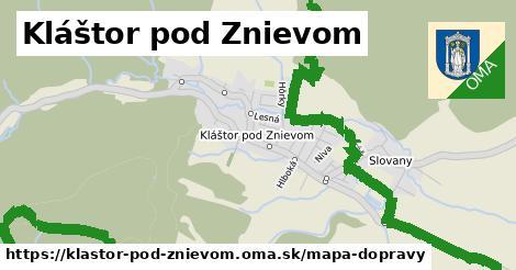 ikona Mapa dopravy mapa-dopravy  klastor-pod-znievom