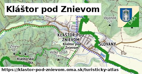 ikona Turistická mapa turisticky-atlas  klastor-pod-znievom