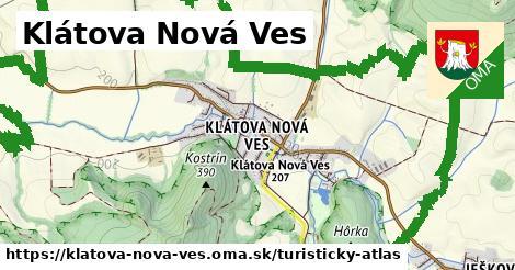 ikona Turistická mapa turisticky-atlas  klatova-nova-ves