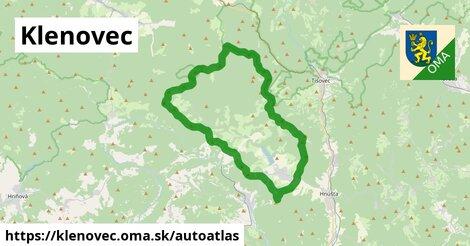 ikona Mapa autoatlas  klenovec