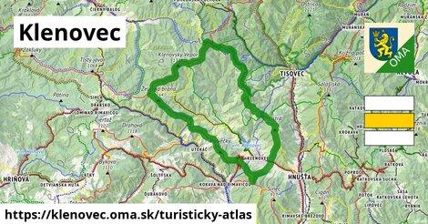 ikona Turistická mapa turisticky-atlas  klenovec