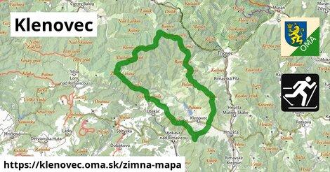 ikona Zimná mapa zimna-mapa  klenovec