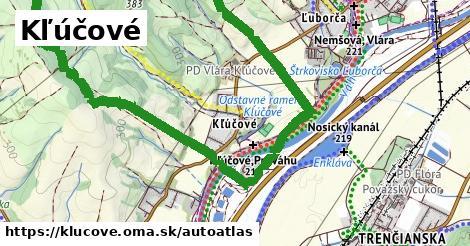 ikona Mapa autoatlas  klucove
