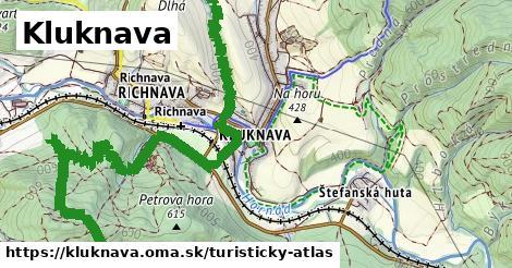 ikona Turistická mapa turisticky-atlas  kluknava
