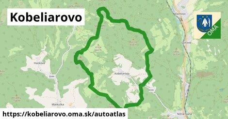ikona Mapa autoatlas  kobeliarovo