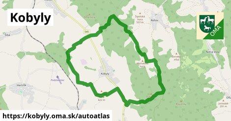 ikona Mapa autoatlas  kobyly