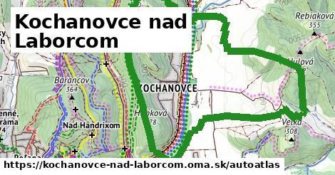 ikona Mapa autoatlas  kochanovce-nad-laborcom