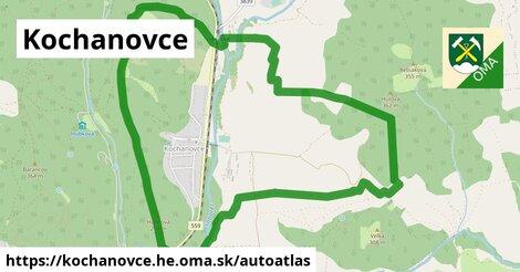 ikona Mapa autoatlas  kochanovce.he