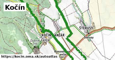 ikona Mapa autoatlas  kocin