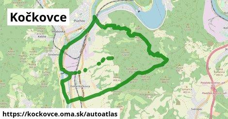 ikona Mapa autoatlas  kockovce