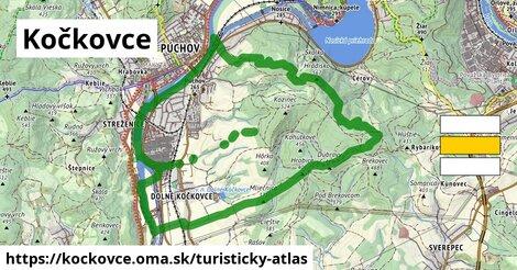 ikona Turistická mapa turisticky-atlas  kockovce
