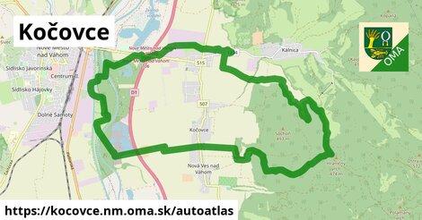 ikona Mapa autoatlas  kocovce.nm