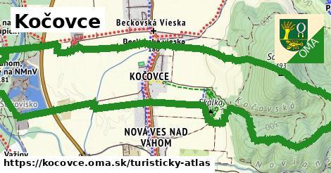 ikona Turistická mapa turisticky-atlas  kocovce
