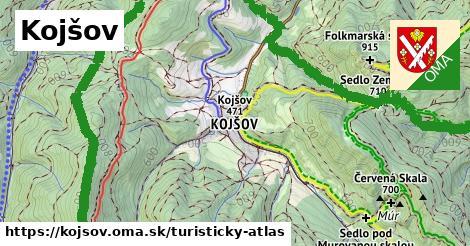 ikona Kojšov: 57km trás turisticky-atlas  kojsov