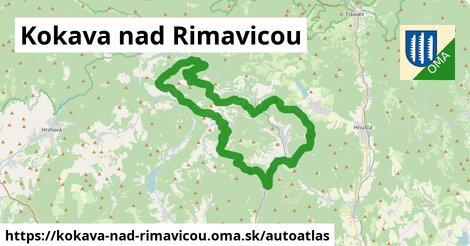 ikona Mapa autoatlas  kokava-nad-rimavicou
