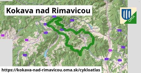 ikona Kokava nad Rimavicou: 24km trás cykloatlas  kokava-nad-rimavicou