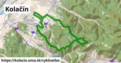 ikona Kolačín: 1,89km trás cykloatlas  kolacin