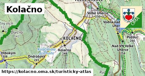 ikona Turistická mapa turisticky-atlas  kolacno