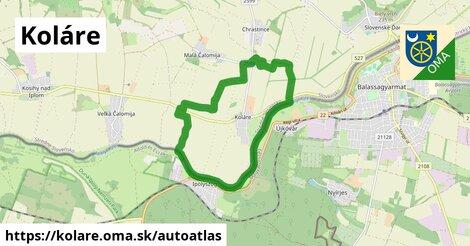 ikona Mapa autoatlas  kolare