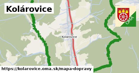ikona Kolárovice: 21km trás mapa-dopravy v kolarovice