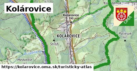 ikona Turistická mapa turisticky-atlas  kolarovice