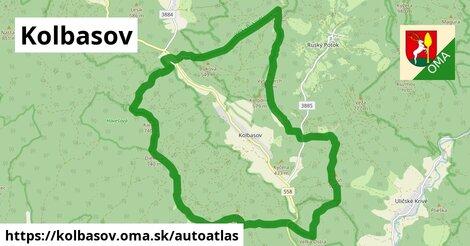 ikona Mapa autoatlas  kolbasov
