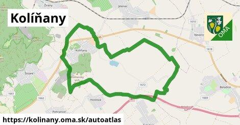 ikona Mapa autoatlas  kolinany