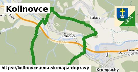 ikona Mapa dopravy mapa-dopravy v kolinovce
