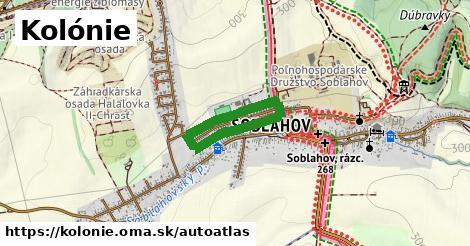 ikona Mapa autoatlas  kolonie