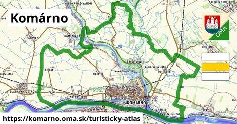 ikona Turistická mapa turisticky-atlas  komarno