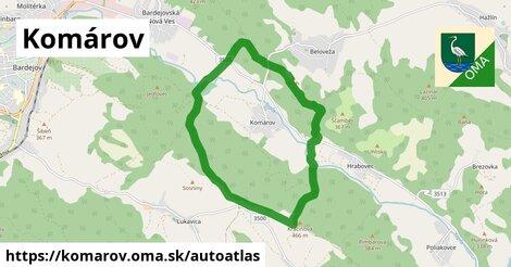 ikona Mapa autoatlas  komarov