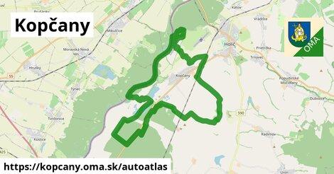 ikona Mapa autoatlas  kopcany