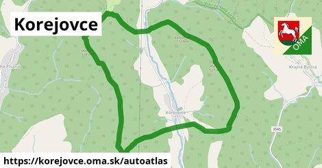 ikona Mapa autoatlas  korejovce