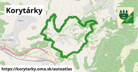 ikona Mapa autoatlas  korytarky