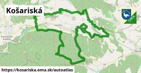 ikona Mapa autoatlas  kosariska