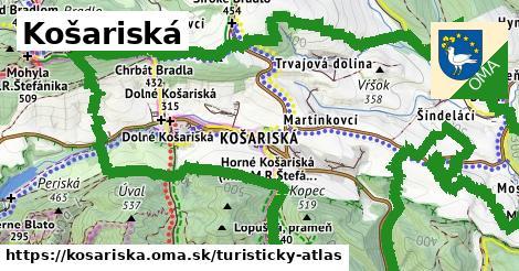 ikona Turistická mapa turisticky-atlas  kosariska