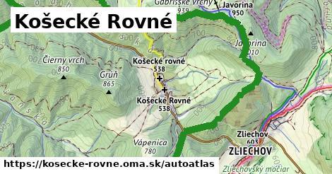 ikona Mapa autoatlas  kosecke-rovne