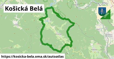 ikona Mapa autoatlas  kosicka-bela