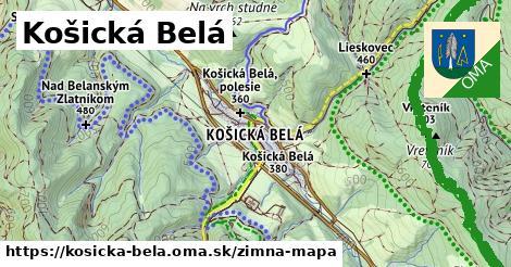 ikona Zimná mapa zimna-mapa  kosicka-bela