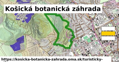 ikona Turistická mapa turisticky-atlas  kosicka-botanicka-zahrada