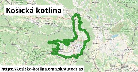 ikona Mapa autoatlas  kosicka-kotlina