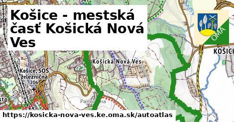 ikona Mapa autoatlas  kosicka-nova-ves.ke