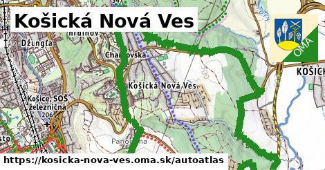 ikona Mapa autoatlas  kosicka-nova-ves