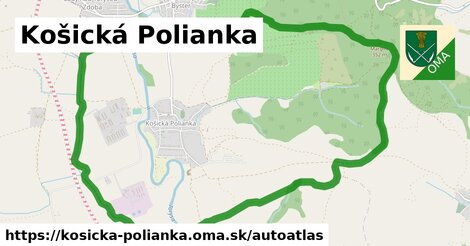 ikona Mapa autoatlas  kosicka-polianka