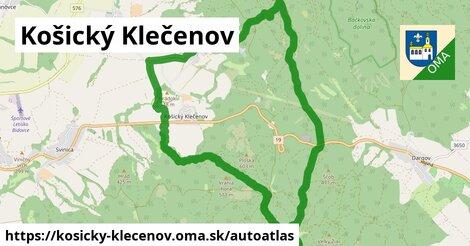 ikona Mapa autoatlas  kosicky-klecenov